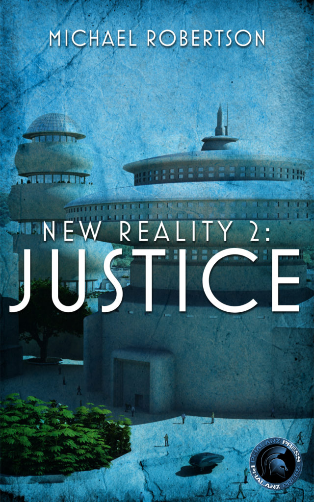 new reality 2 - Ebook cover - Phalanx Logo - Good Quality